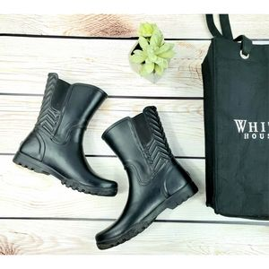 Sperry wellies rubber waterproof boots black 7.5à